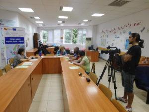 Представяне на проекта пред журналисти